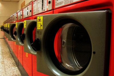 Waschmaschinen waschen auch Seide.