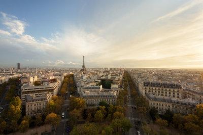 Paris ist eine Stadt für Romantiker.