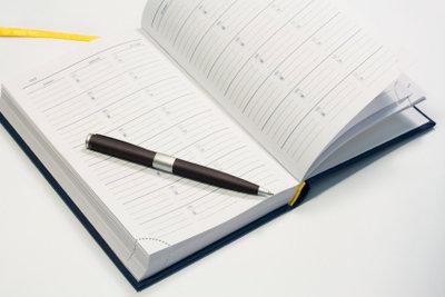 Gedanken zum Thema zu Papier bringen