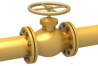 Gasanschluss - die Kosten variieren.