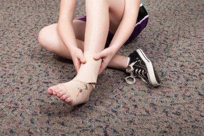 Über 80% aller Sportunfälle sind vermeidbar.