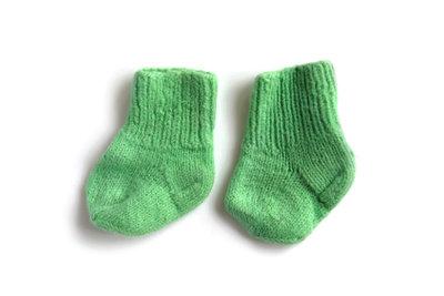 Wollsocken sollten materialschonend gewaschen werden.