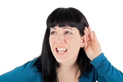 Das Ohr bietet viele Piercingmöglichkeiten.