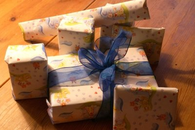 Geschenke gehören einfach dazu.