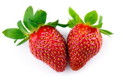 Machen Sie ein Erdbeer-Kostüm selber.
