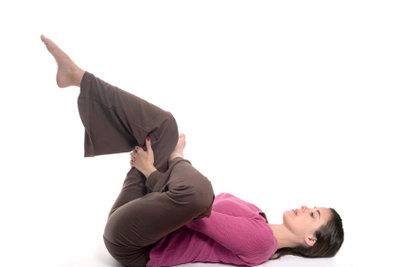 Trainieren Sie den Rücken vorsichtig.