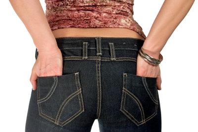 Jeans sind äußerst praktisch.