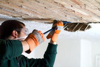 Zimmerdecken können Sie individuell renovieren.