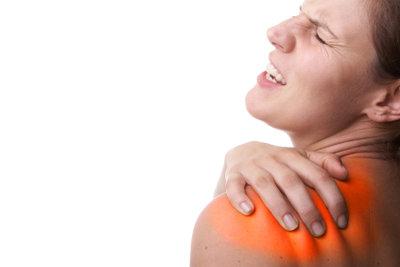 Schulterverletzungen sind oft sehr schmerzhaft.