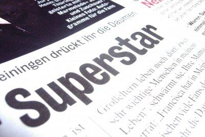 Chic wie ein Superstar
