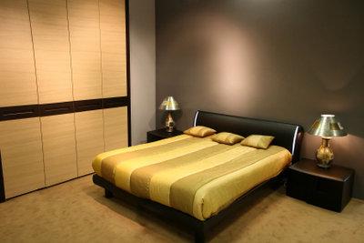 Ein Schlafzimmer sollte konstante Luftfeuchtigkeit haben.