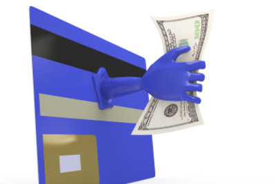 Kundenkarten mit einem speziellen Kreditrahmen