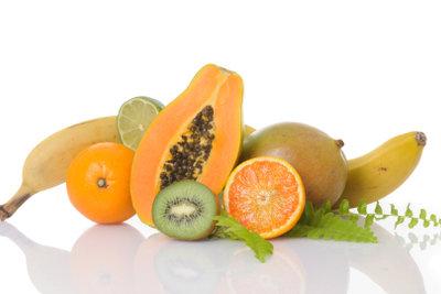 Aphten lassen sich mit Papaya behandeln.