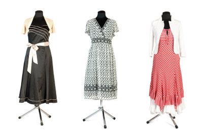 Nähen Sie sich ein einfaches Sommerkleid.