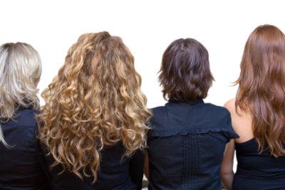Braun haare mit blonden strähnen
