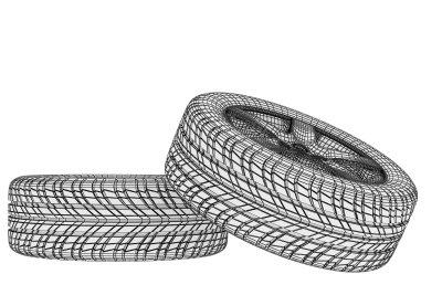 Angaben zu erlaubten Reifengrößen stehen in der Zulassungsbescheinigung.