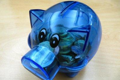 In Sparbüchsen ist oft viel Münzgeld.