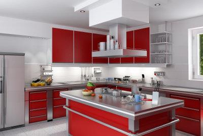 Eine Kochinsel ist Traum vieler Hausfrauen.