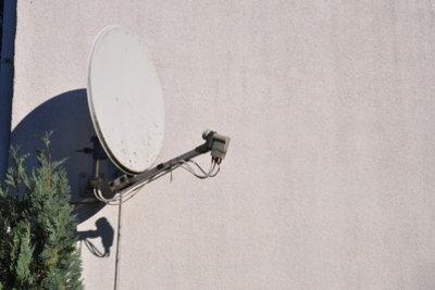Satellitenempfang ist nicht nur außen möglich.