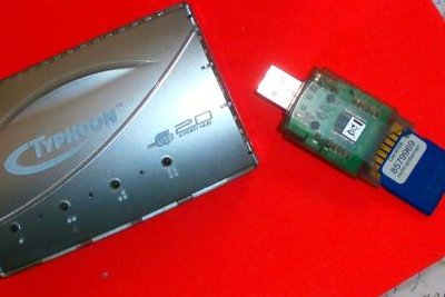 Lange Datenwege von der Micro SD zum PC vermeiden