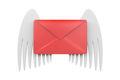 Ein Brief kann viel Freude bereiten.