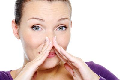 Muffiger Geruch ist ein Alarmsignal.