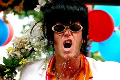 Elvis ist das 50er Jahre Idol.