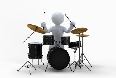 Lebenswichtig für einen guten Drummer: seine Lieblingsdrumsticks.