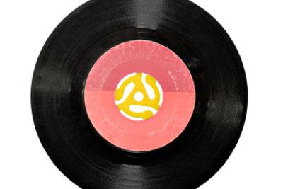 Alte Schallplatten können viel wert sein.