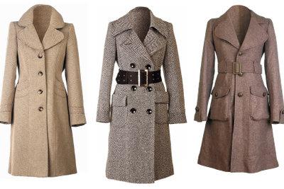 Elegante Jacken und Mäntel passen zum Sakko.