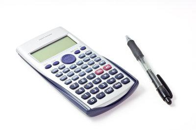 Ein Taschenrechner vereinfacht das Halbierungsverfahren.