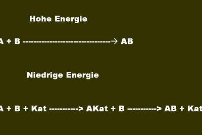 Katalysatoren verändern die Aktivierungsenergie.