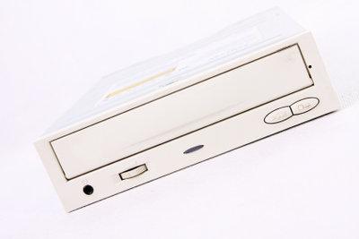 Einstellen des USB-DVD-Laufwerks im Bios.