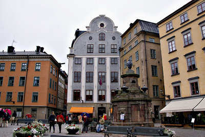 Bietet einen Weihnachtsmarkt: Stockholms Altstadt