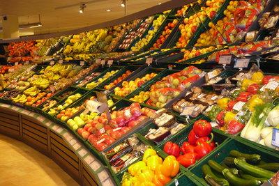 Wenn Sie Hunger haben, dann essen Sie Obst und Gemüse.