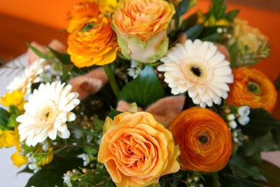 Vergessen Sie nicht den Blumenschmuck zur Hochzeit!