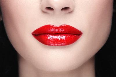 Die Lippenformen kann man kaschieren.
