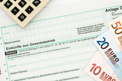 Das Formular verlangt die Steuernummer.