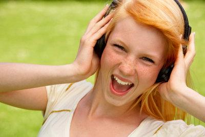 """""""MP3"""" ist ein Audioformat, das universell abspielbar ist."""