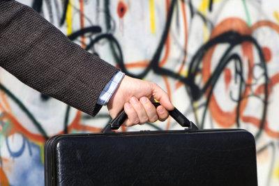 Graffitis sind Sachbeschädigung.