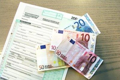 MetallRente.bAV erscheint nicht in der Steuerklärung.