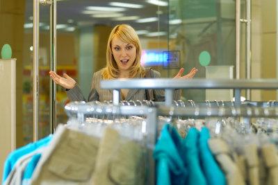 Die richtige Bluse für die Frauenfigur