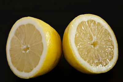Die Zitrone, die Vitamin C Powerfrucht.