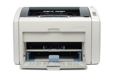 Ein Häkchen schickt den Drucker in die Pause.