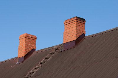 Dachstufen sollten sicher installiert werden.
