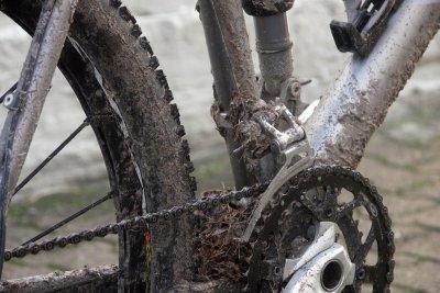Hier ist eine Fahrradreinigung unumgänglich.