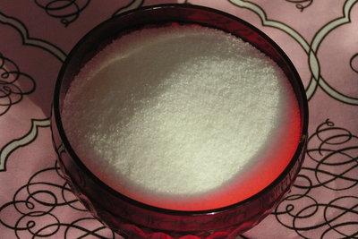 Zucker ist ein kleiner Segen für die Menschen.