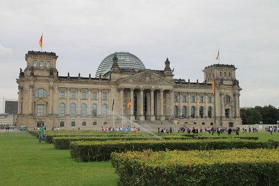 Das Reichtagsgebäude in Berlin ist ein wichtiger Sitz der Exekutive.