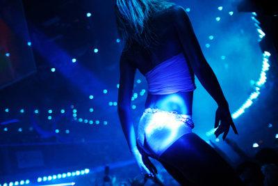 Ein Lapdance ist getanzte Erotik.