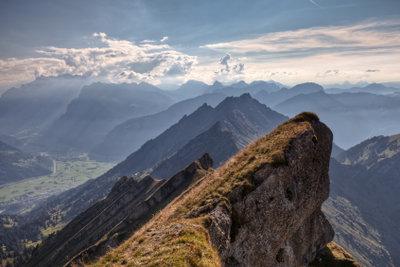Unglaublich, mit welcher Kraft die Erde Berge erschafft.